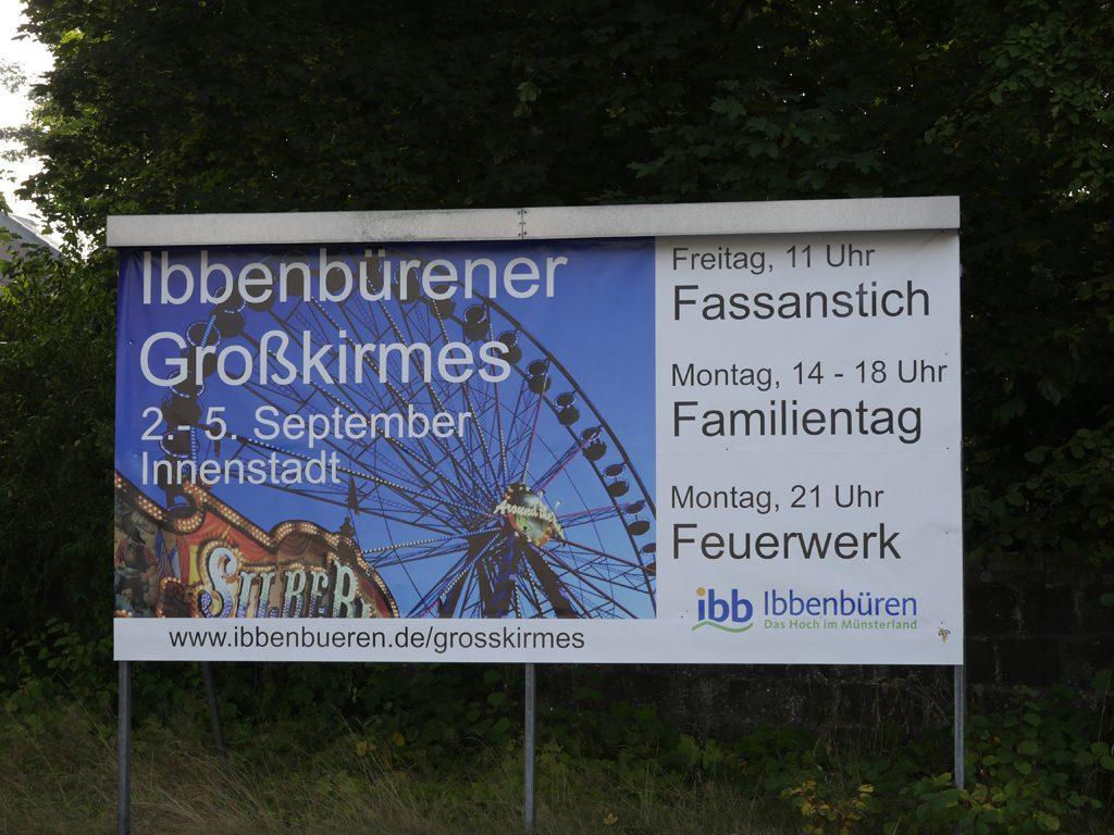 Ibbenbürener Grosskirmes 2016