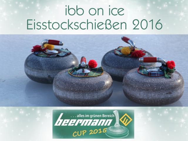 ibb on ice: Anmeldung zum Eisstockschiessen ab Samstag, 29.10.2016 möglich
