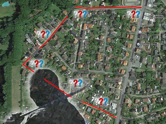 Bogenstrasse: Einbrecher beim Verlassen des Grundstücks überrascht