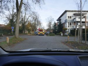 Feuerwehreinsatz an der Groner Allee