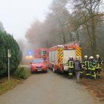 Dickenberg: Erdgasleitung beschädigt