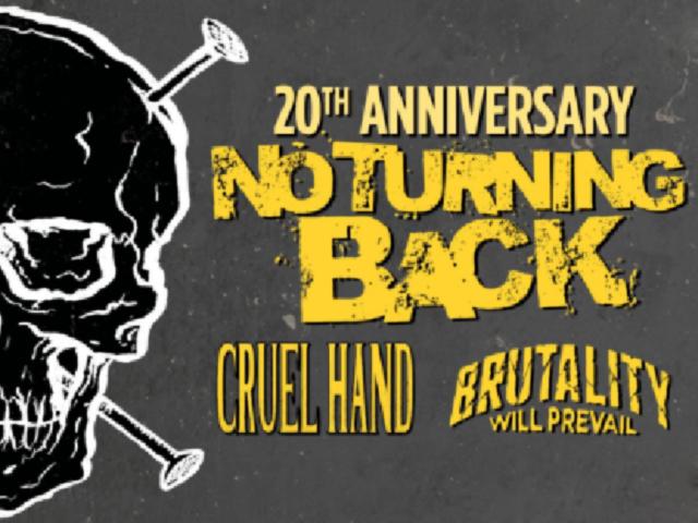 """Niederländische Hardcoreband """"No Turning Back"""" startet Europatour in der Scheune Ibbenbüren"""