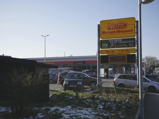 Bewaffneter Raubüberfall auf Netto-Markt in Mettingen