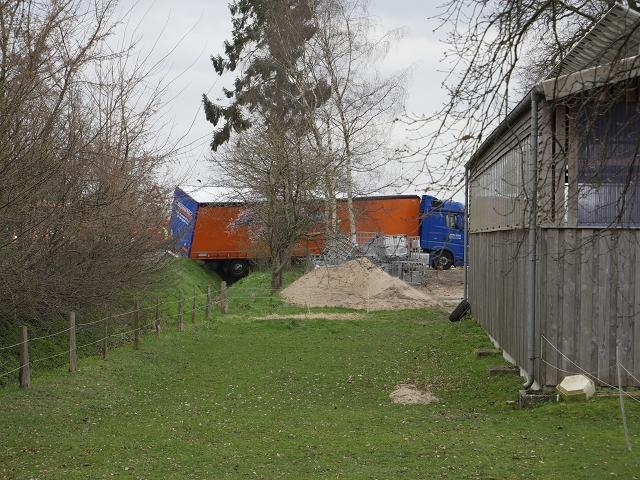 Bergungsarbeiten: Vollsperrung der Riesenbecker Strasse (L 591)