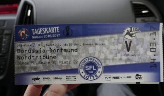 Neue Fotos: Sportfreunde Lotte vs. Borussia Dortmund