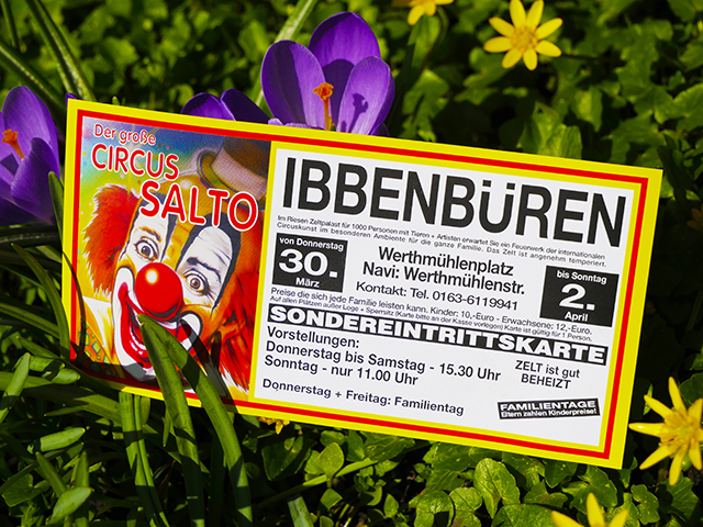 Zirkus Salto gastiert in Ibbenbüren