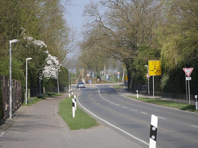 Tödlicher Unfall auf der Recker Straße (L 599) in Mettingen