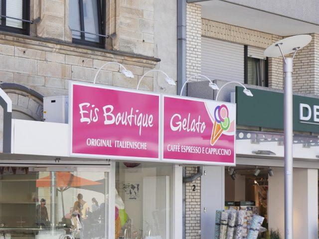 """Neue Eisdiele am Oberen Markt: Die """"Eis Boutique"""""""