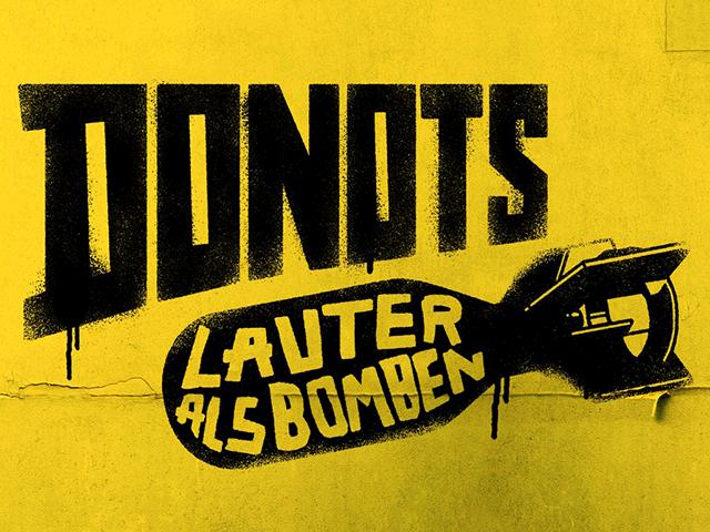 "Neues DONOTS-Album: ""Lauter als Bomben"""