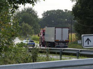 Schwerer Unfall auf der B219 bei Dörenthe