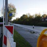 Dickenberg: Vollsperrung der Rheiner Strasse nach Unfall mit zwei Schwerverletzten