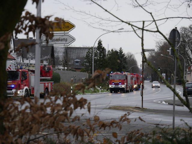 Feuerwehreinsatz in Püsselbüren