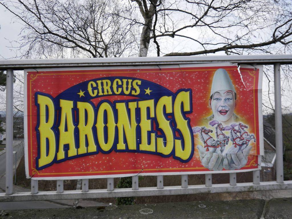 Zirkus Baroness gastiert in Ibbenbüren